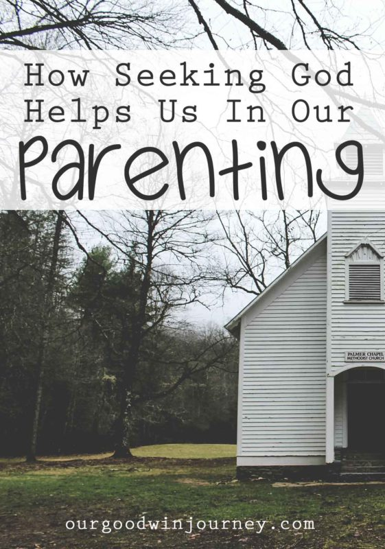 Seeking God First - How Faith Helps Us in Parenting