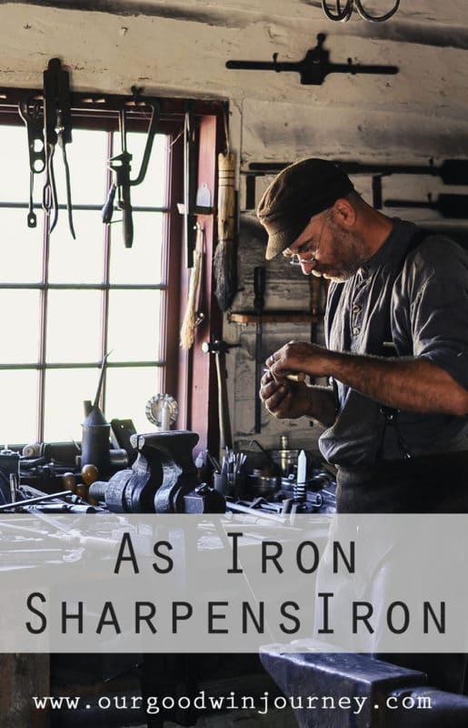 Iron Sharpens Iron - A Story of Faith and Friendship