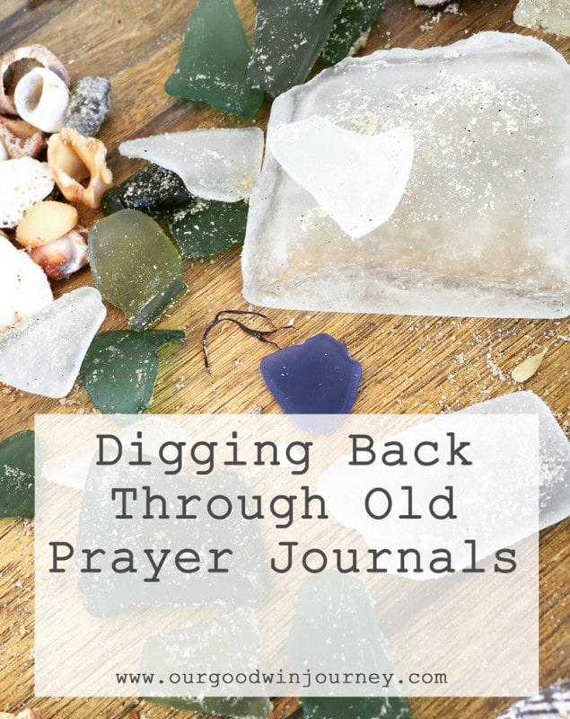 Digging back through old prayer journals - a few things I learned