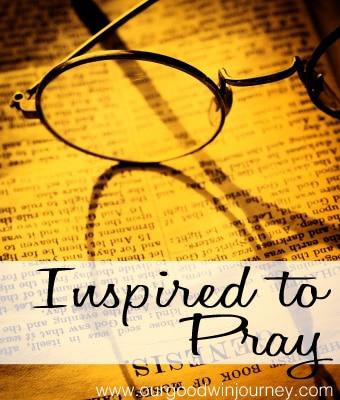 Prayer Life - Inspired to Pray More and Build my Prayer Life