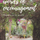 Words of Encouragement from the Bible - Printable Verses