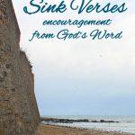 Sink Verses for Encouragement