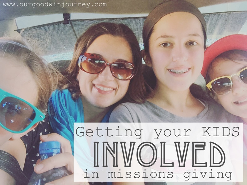 Practical, easy ways to get your kids involved in their own missions giving!