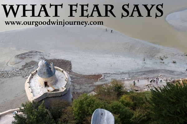 Verses About Fear - What Does Fear Say?