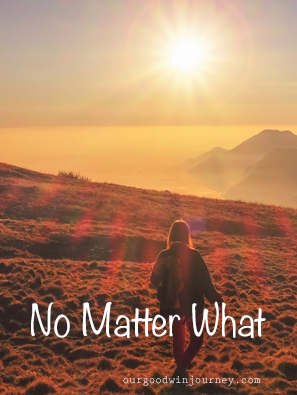 No matter what - a story from David and Goliath