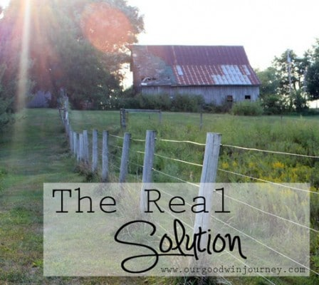 finding the real solution for everything #faith
