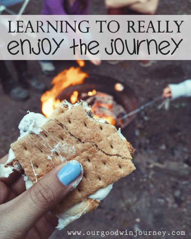 Enjoy the Journey - Learning to Get Joy Each Day