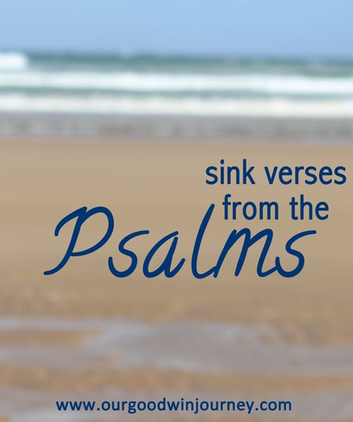 sink verses from psalms #sinkverses #psalms #bible #faith