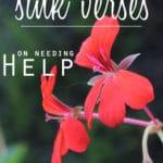 Sink Verses – Help