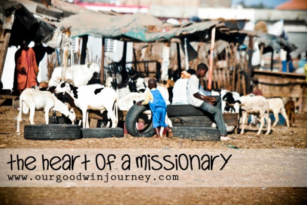 having the heart of a missionary