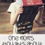 Top Ten Homeschooling Thoughts