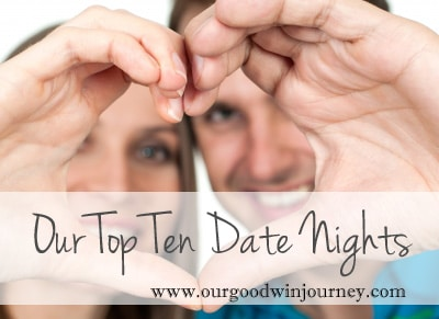 Date Night Ideas - Top Ten FUN Date Night Ideas For You!
