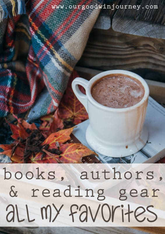 Books, Authors, and reading gear... all my favorite things!