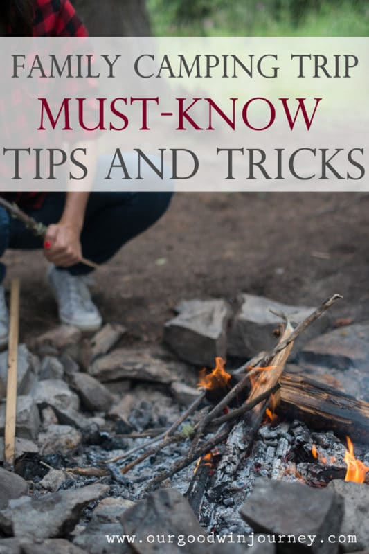 Family Camping Trip MUST-KNOW Tips and Tricks!