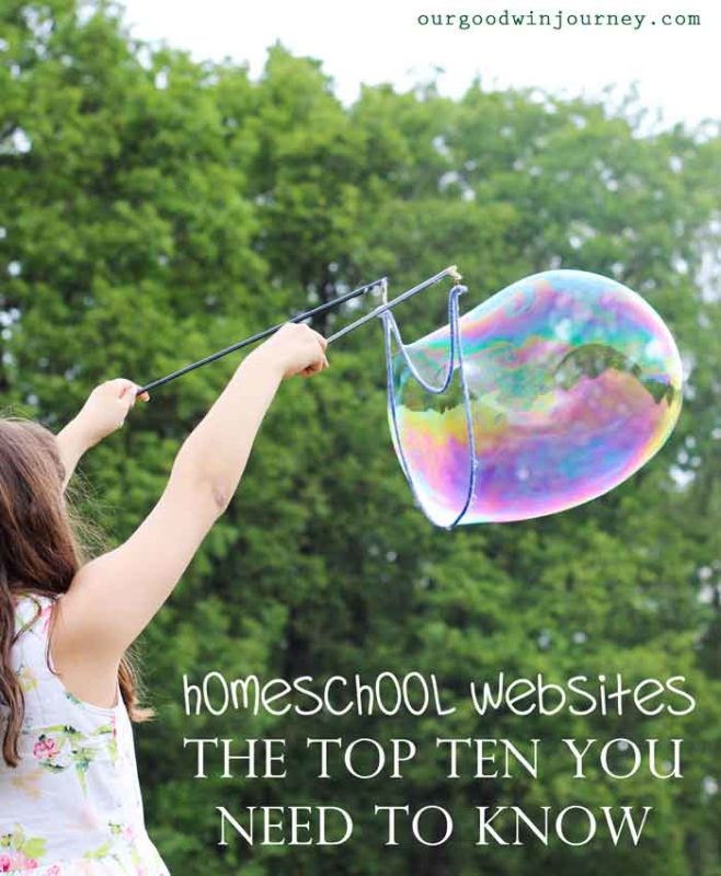Homeschool Websites - Top Ten You Need to Know