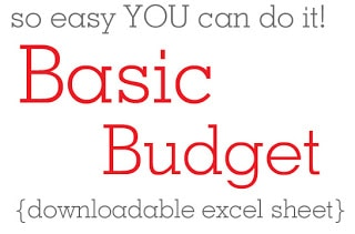 How to Make a BASIC Monthly Budget