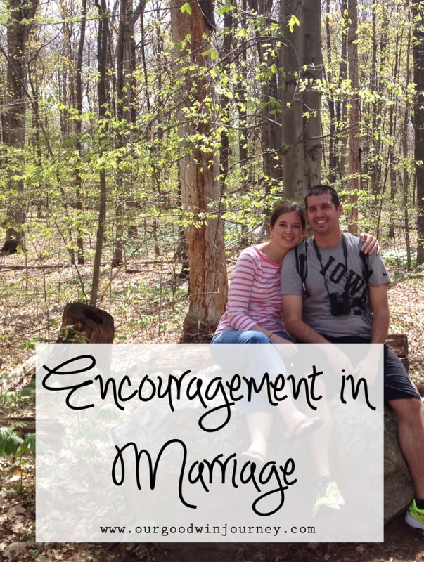 Encouragement in Marriage - a conversation you might need to have with your spouse!