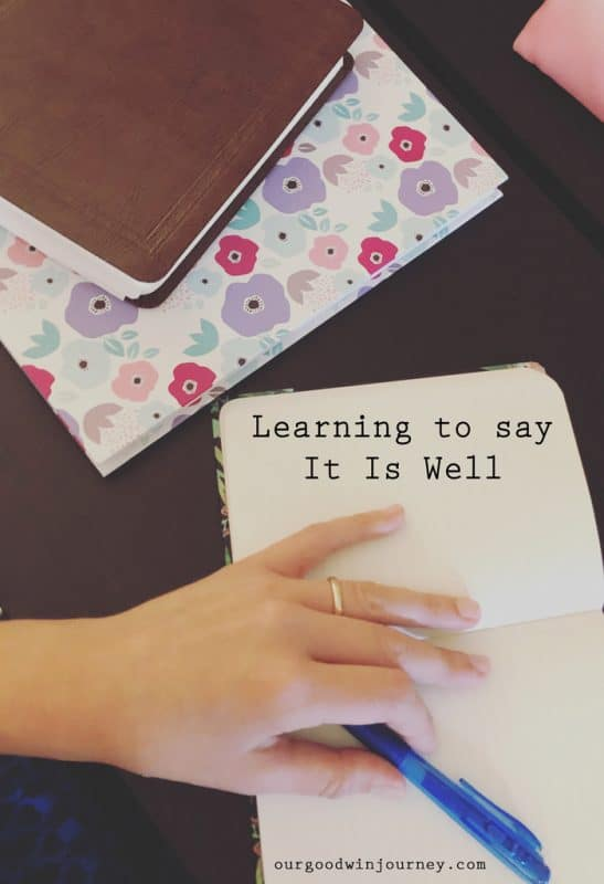 Learning to Say It Is Well No Matter What Happens