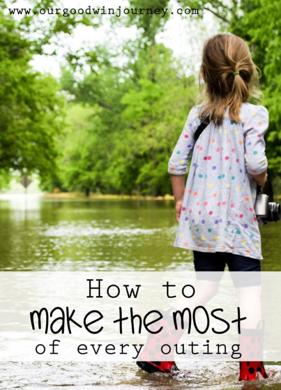 learn how to make the most of every single family outing, day trip, grocery run, or park stop