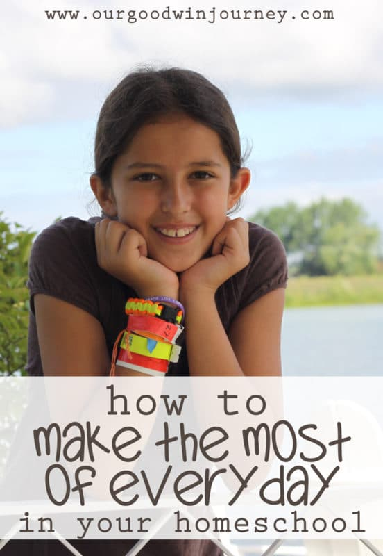 learn how to make the most of every single day you homeschool your kids!