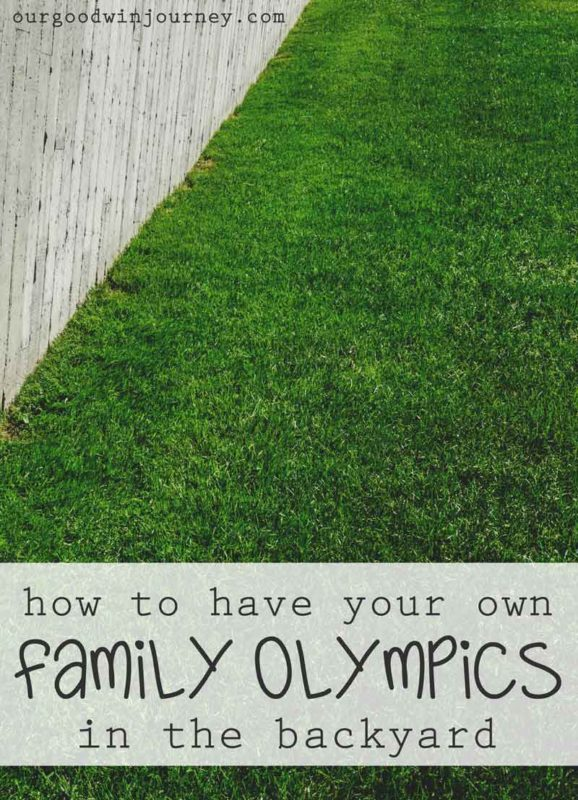 How to Have your Own Family Olympics right in your own backyard! Tips, decorations, ideas and fun activities for the whole family
