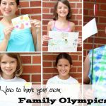 How to Have your own Family Olympics
