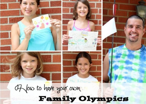 How to have your own Family Olympics #ihsnet