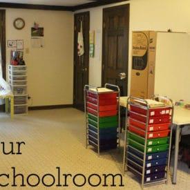 Homeschool Supplies - Our Homeschool School Room