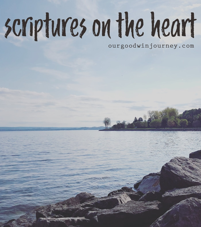scriptures on the heart