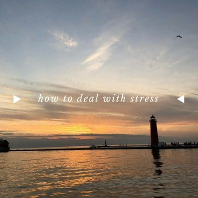 How to deal with stress - Fighting Being Overwhelmed and Stressed Out