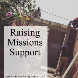 To Rely on Others - Raising Support and Learning to Receive