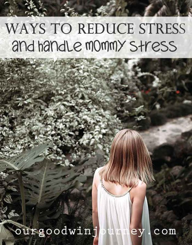 Ways to Reduce Stress and Handle Mommy Stress