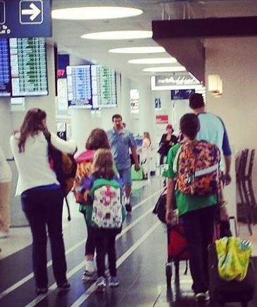 Flying out for our first term #missions #missionarylife