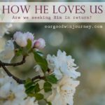 Oh, How He Loves Us – Seeking Him