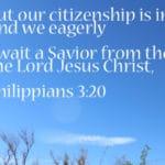Citizenship: Heaven