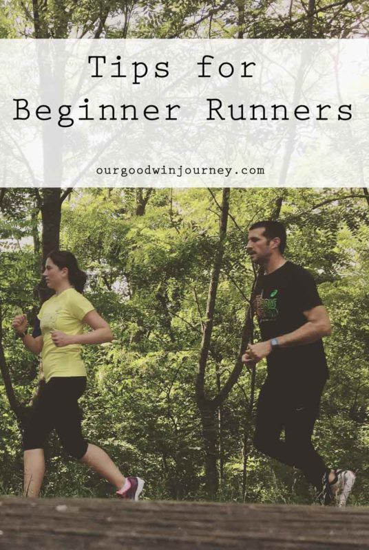 Tips for Beginner Runners - tips from our journey beginning to run