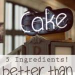 {Easy Recipe} Heath Bar Chocolate Cake!