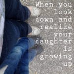 Your Daughter is Growing Up