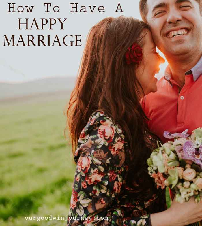 How to Have a Happy Marriage and the Secret Answer