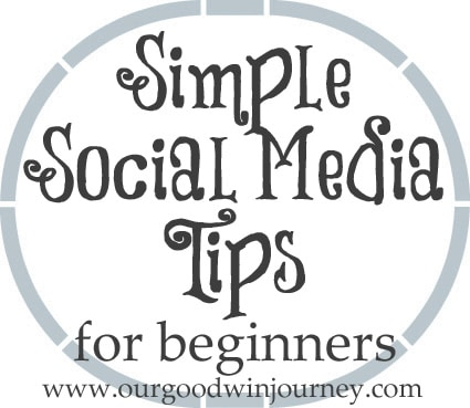 social media tips - simple ways to begin using social media and blogging platforms