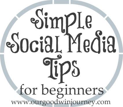 social media tips - simple ways to begin using social media and blogging platforms