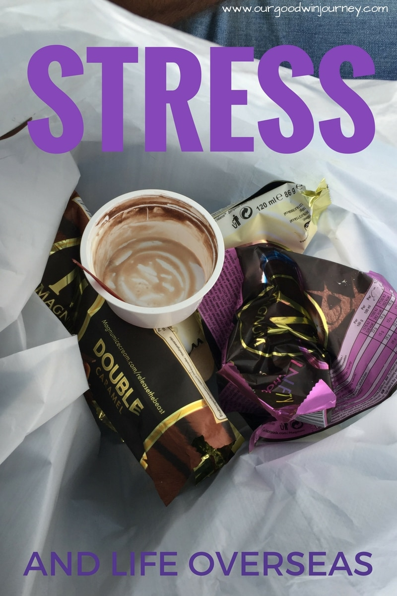 stress and life overseas