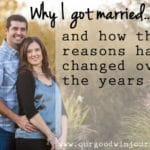 Why I Got Married