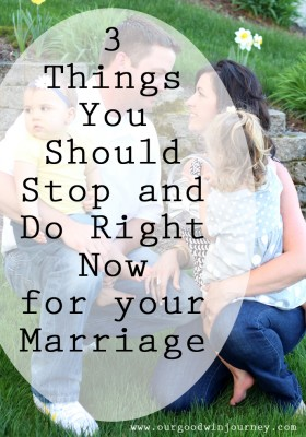 Marriage Therapy - 3 Things You Should Do Right Now