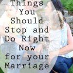 3 Things You Should Do Right Now – Marriage