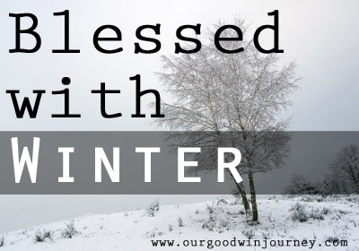 blessed with winter - a season of life