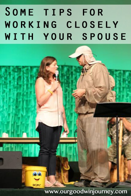 Some tips for working closely with your spouse #marriage #happywivesclub
