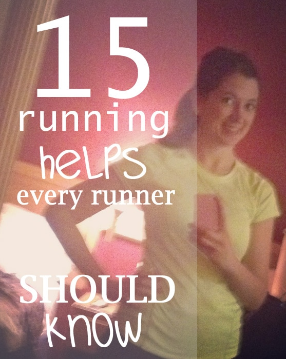 15 Helps for Runners - things you need to know #running #runner #fitness #health