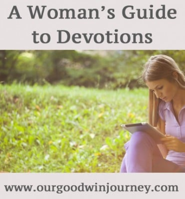 for when life is busy... a woman's guide to devotions #faith #worship #womanhood