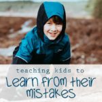 Teaching Kids to Face Mistakes